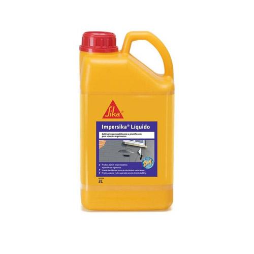 Aditivo Impermeabilizante e Plastificante Impersika 3L